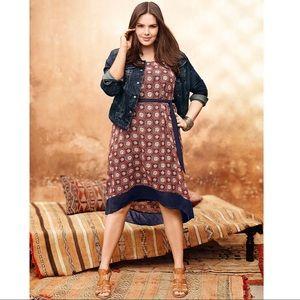 Lane Bryant High Low Chiffon Dress